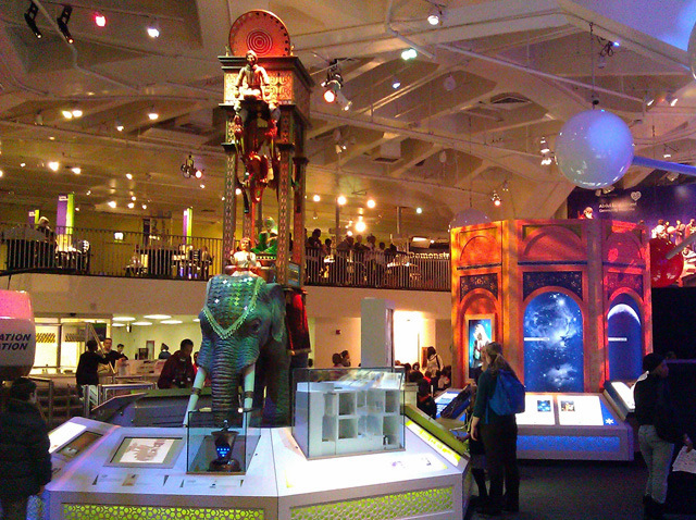 an analysis of exhibition at the new york hall of science