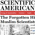 Scientific American The Forgotten History of Muslim Scientists 1001 Inventions