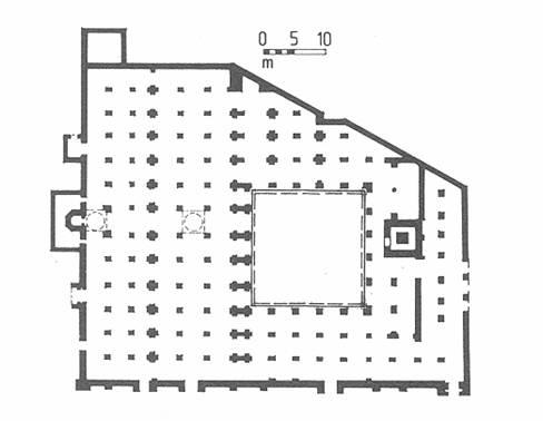 The great mosque of tlemcen muslim heritage for Plan tlemcen