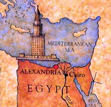 Eye witness accounts of the Lighthouse of Alexandria one of the