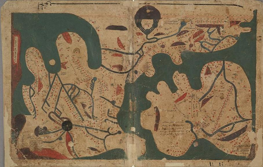 The unpublished works of arabic geography an overview and a the book of curiosities nbspthe oldest extant rectangular world map book 2 gumiabroncs Choice Image
