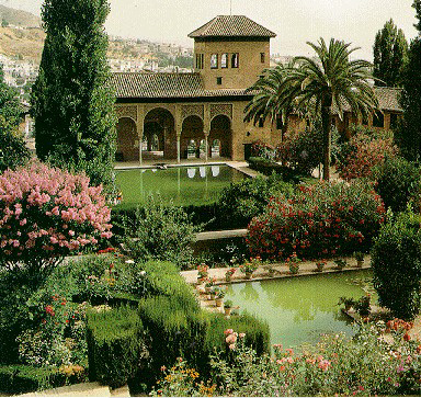Islamic Gardens And Landscapes Gardens of islam muslim heritage left gardens of the al hambra palace granada spain right islamic gardens and landscapes book by d fairchild ruggles source workwithnaturefo