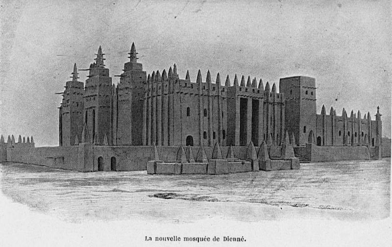 west african mosque architecture - a brief introduction | muslim