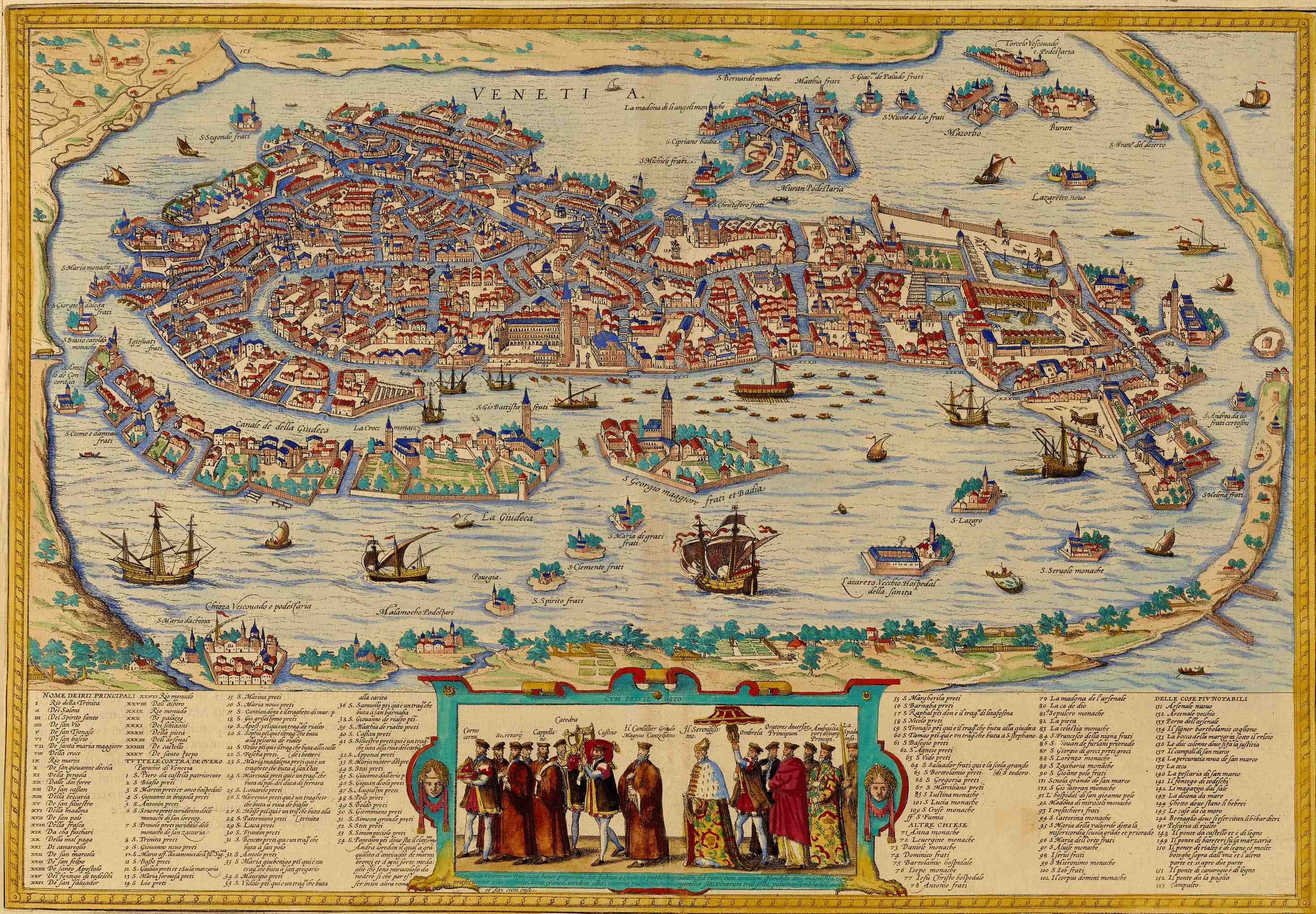 East Meets West In Venice Muslim Heritage - Venice san marco map