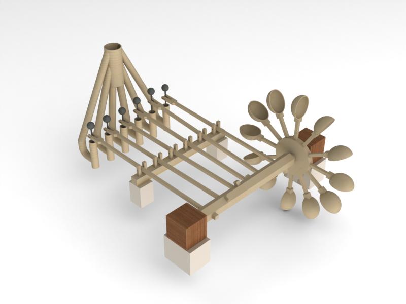 Model Water Pump Pump Solidworks Model