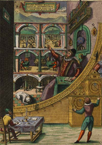 The instruments of istanbul observatory muslim heritage for Tycho brahe mural quadrant