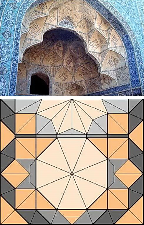 new discoveries in the islamic complex of mathematics architecture