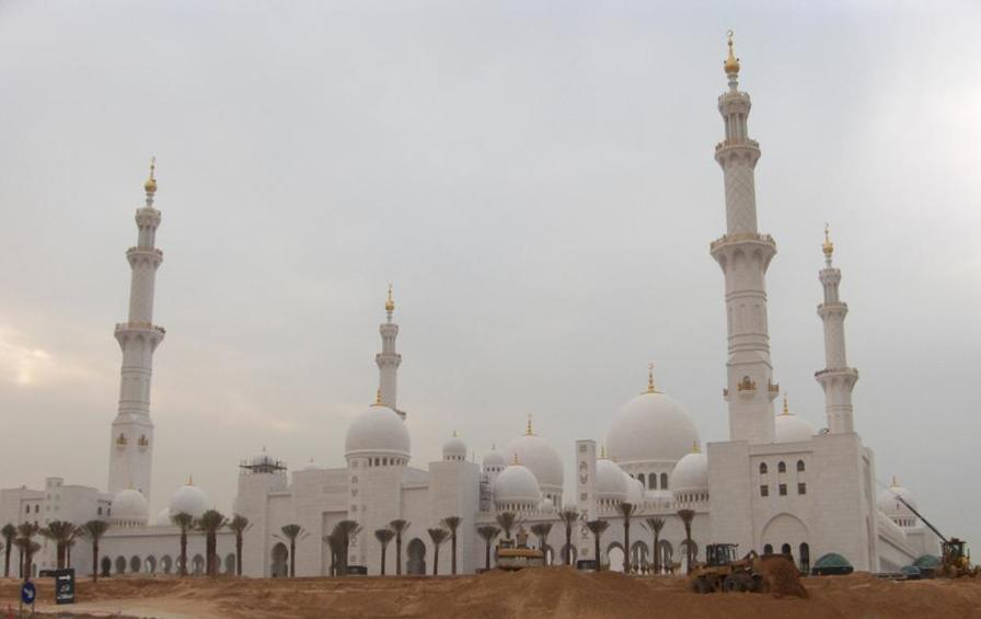 Sheikh Zayed Great Mosque In Abu Dhabi Islamic Architecture In The